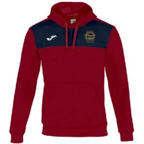 North Kildare Cricket Club Winner Hoodie Red/Navy - Youth 2018
